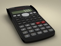 casio scientific calculator 3d c4d