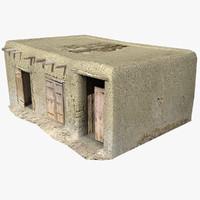 afghan house 07 3d model