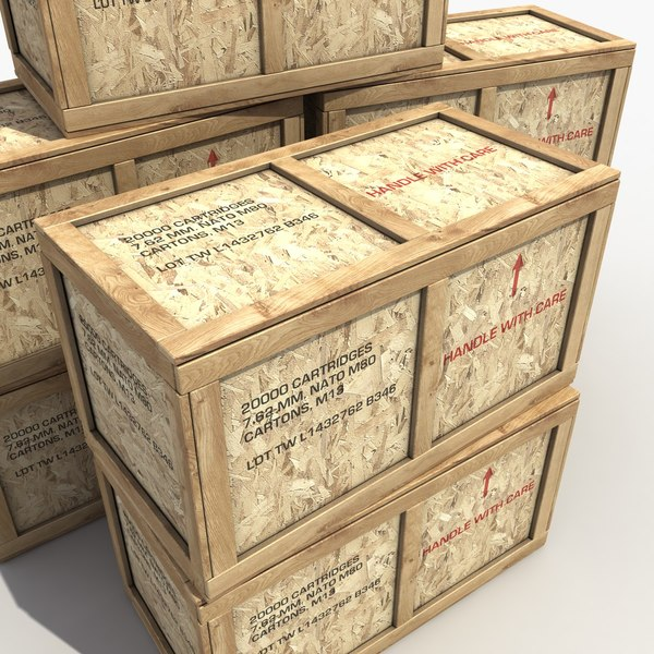 3d max maps contains - Ammo Crate... by 3D Graphics