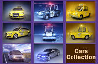 3d Cars Collection