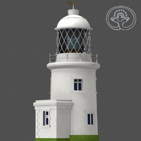pendeen lighthouse 3d max