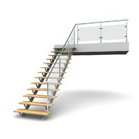 3d model metal staircases step