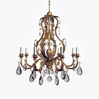 Vaughan Chambord Gilt Chandelier