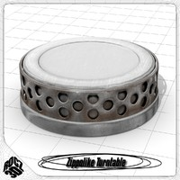 3d model of turntable zippolike