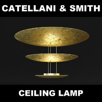 obj lamp catellani