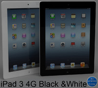 apple ipad 3 wi-fi c4d