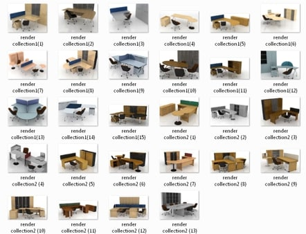 Catalog of Tables office