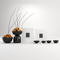 decoration vases 3d max