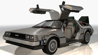 maya future delorean car