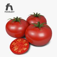 3d model tomato
