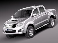 toyota hilux 2012 pickup 3ds