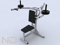 exercise equipment 3d 3ds