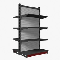 3d model display rack