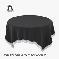 table cloth obj