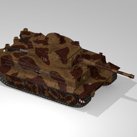 3d max german wwii tank tracks