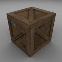 Wood Carton 002