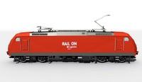 Electro locomotive BR185