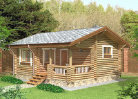 Log House 6.6 x 7.8m