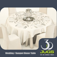 banquet wedding dinner table max