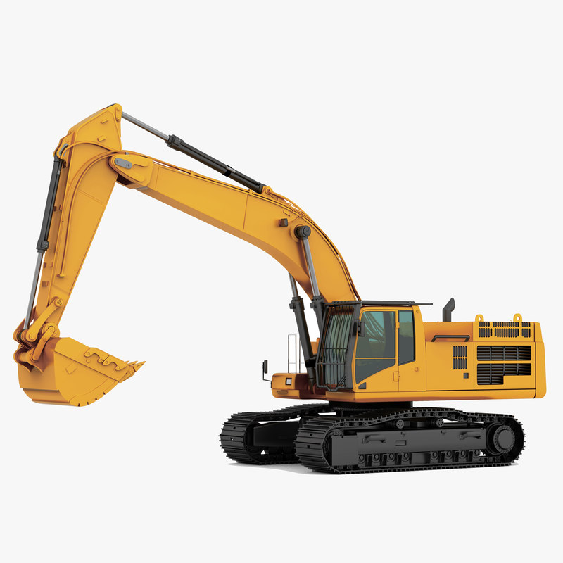 CAT 390D L Hydraulic Excavator isolated RGB247.jpg