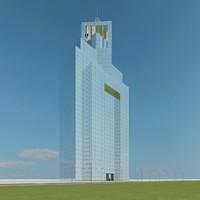 3d model new skyscraper 87