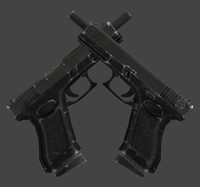 3ds max glock old damaged