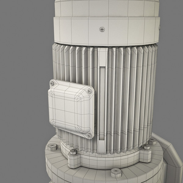 modelled 1 3d model - Pump centrifugal_1... by PlastyForma
