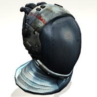 pressure suit helmet 3d max