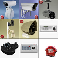 3d security cameras controllers