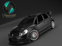 3d model suzuki sx4 wrc special
