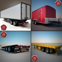 trailers v4 3d c4d