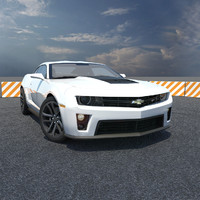 3d chevy camaro car