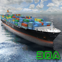 Container Ship 3300TEU Hanjin