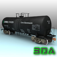 Railroad tankcar T104 CRGX black