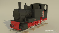 3d model of steam engine locomotives