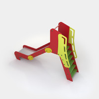 small slide 3d fbx