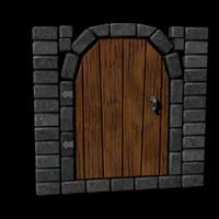 3d door stone