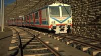tcdd suburban train 3d model