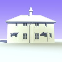 British 2 Storey Semi Detached House Unit 7
