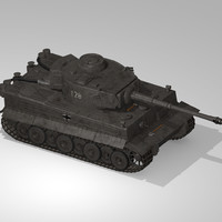 3d german wwii tank tracks