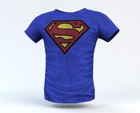 3d t-shirt shirt model