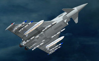 3ds max fighter eurofighter