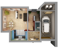 maya home interior floor plan