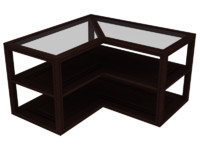 3d uv coffee table model
