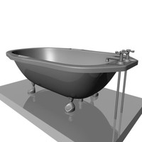 Old Fashion Bathtub