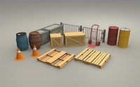 pack warehouse 3d 3ds
