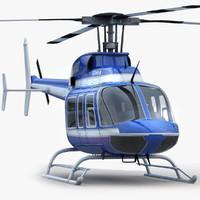 3d model bell 407