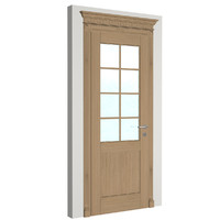 3d model solid door