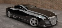 3d model maybach exelero