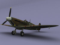Game ready Spitfire Mk2